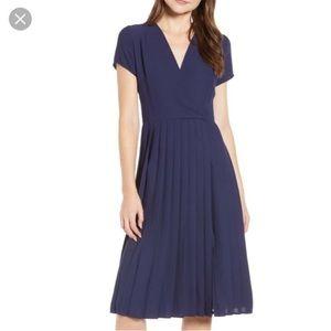 Leith Surplice Midi Dress